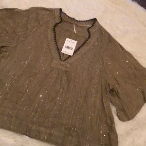 Free People Lily Pad top NWT
